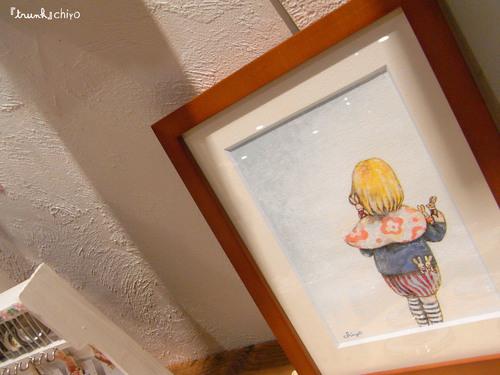 chiyo展示始まりました☆作品紹介【原画】⑤_f0223074_19301152.jpg