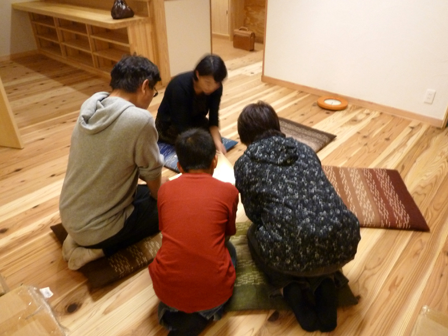 S邸「広面川崎の家」 完成内覧会のお礼_f0150893_1841059.jpg