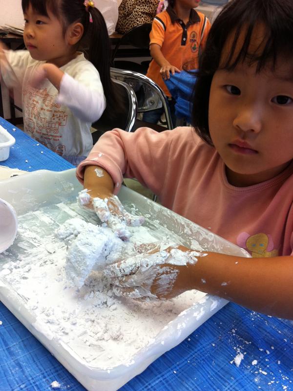 石膏工作 あべの教室_f0215199_23461363.jpg