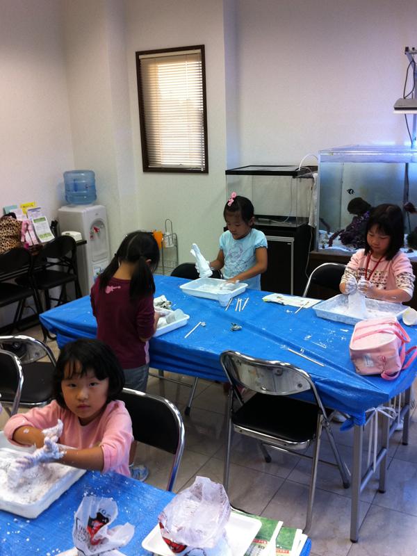 石膏工作 あべの教室_f0215199_23481346.jpg