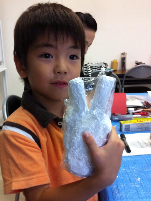 石膏工作 あべの教室_f0215199_23483565.jpg