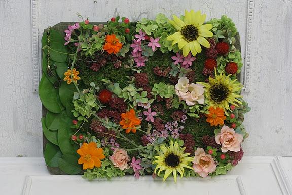 一会定期レッスン9月 ウエルカムボードもしくは受付の庭園セット_a0042928_2393387.jpg