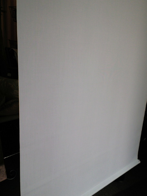 ウォッシャブルタイプのロールスクリーンをクリーニング。_c0157866_19372355.jpg