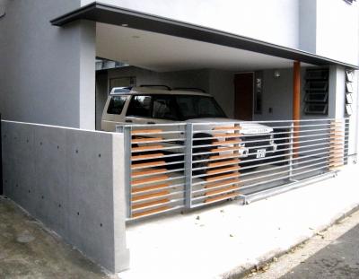 ブロック塀もコンクリートに大変身:コンクリート若返り工法の魅力_e0010418_16111534.jpg