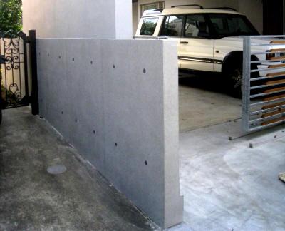 ブロック塀もコンクリートに大変身:コンクリート若返り工法の魅力_e0010418_16242011.jpg