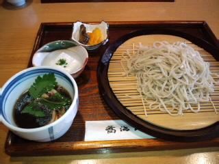 鴨汁そば!千円…おすすめ!美味しかった。_d0082356_1513325.jpg