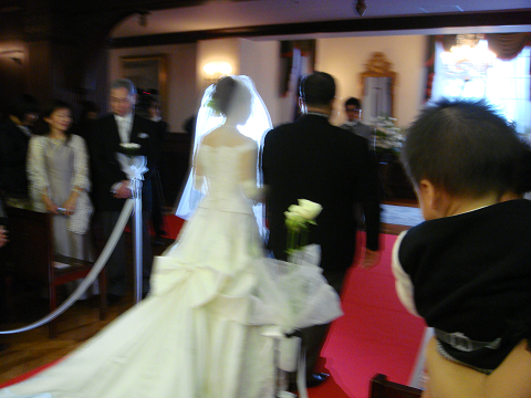 ゆうきちゃんの結婚式_b0157277_14304936.jpg