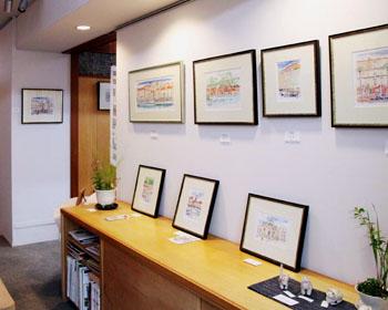 石原清 水彩画展を見に行く_c0081499_9152676.jpg