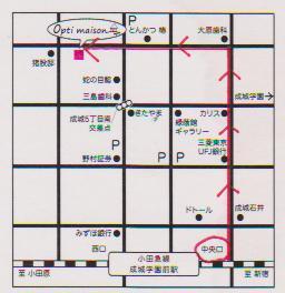 お店までの道順~遠回りルート(中央北口改札口より)_d0191211_16355422.jpg