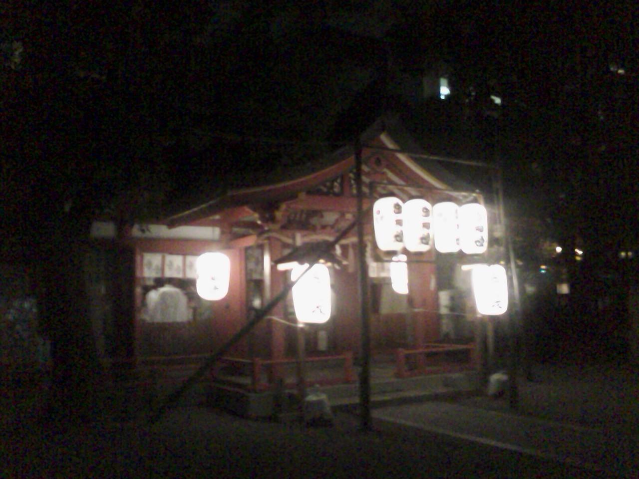 御霊神社の秋祭り ご奉納_a0088827_1830205.jpg