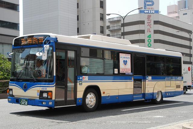 阪神バス~ブルーリボンⅡノンステップ&ワンステップバス~_a0164734_2236414.jpg