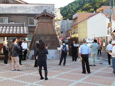 /// 新温泉町ジオパークネットワークの湯村温泉学習会が開かれました /// _f0112434_21432866.jpg