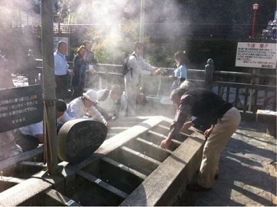 /// 新温泉町ジオパークネットワークの湯村温泉学習会が開かれました /// _f0112434_21444857.jpg