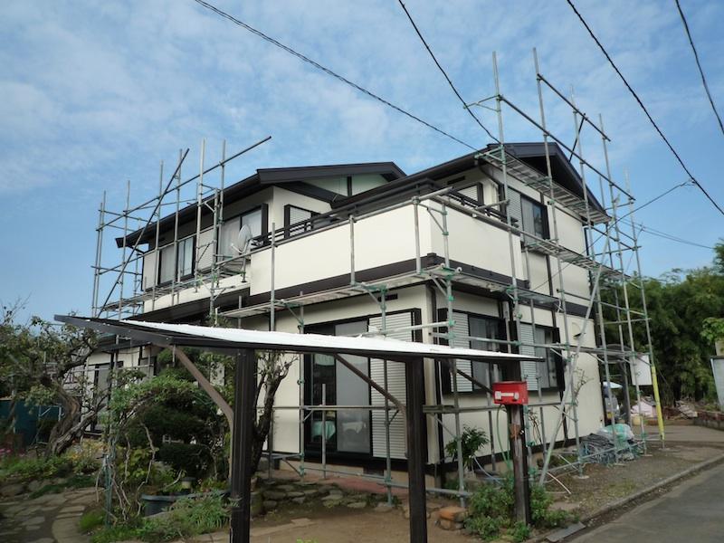 外部塗装2@ご近所さん_c0131878_1348678.jpg