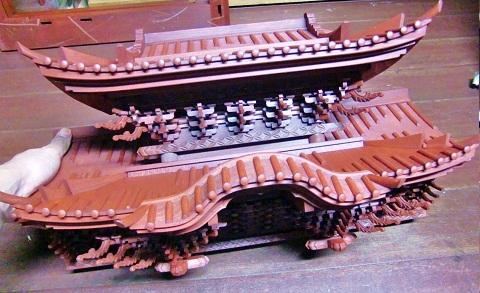 金沢仏壇の制作 その5 木地固め 2011.10.19_c0213599_0184435.jpg