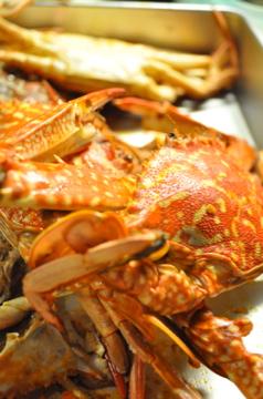 天草の渡り蟹でパスタ料理_c0130206_10592644.jpg