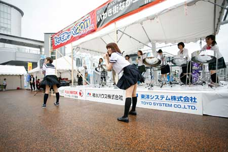 いわき街中コンサート で DX_e0180406_2153367.jpg