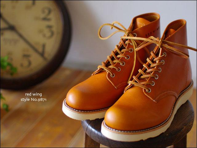 RED WING[レッドウィング] style No.9871 6inch CLASSIC ROUND TOE 犬タグ_f0051306_20145857.jpg
