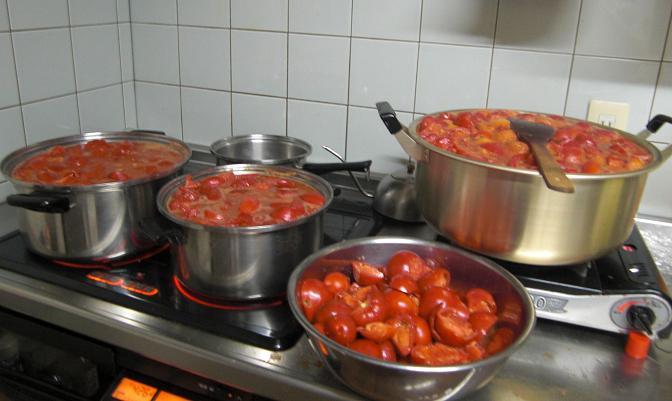 帰省7日目...食材加工の夜が更けて...。_c0119140_1410131.jpg
