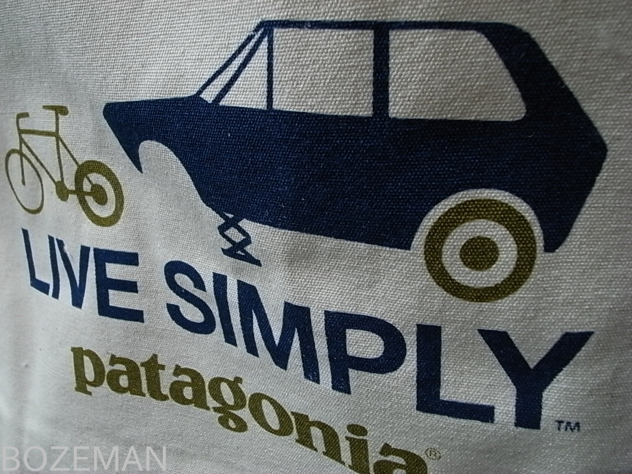 PATAGONIA CANVAS BAG LIVE SIMPLY SPARE_f0159943_1554971.jpg
