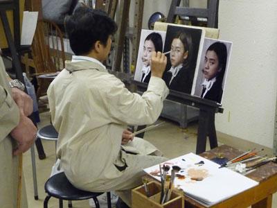 """古吉弘の""""古典的描法による人物画講座""""レポート5_b0107314_117716.jpg"""