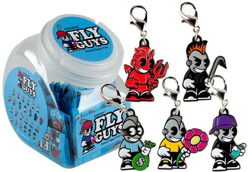 Kidrobot Fly Guys Enamel Zipper Pull Series_e0118156_18382685.jpg