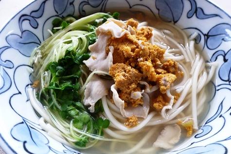 いちご煮の湯麺_e0148373_11343575.jpg