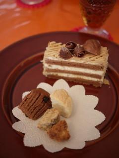 Rena* sweets 10月マロンパウンドケーキ and 巨峰のタルト☆ _e0159185_944998.jpg