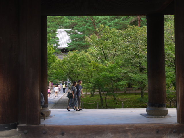 京都の風景 南禅寺の三門_f0024992_0511746.jpg