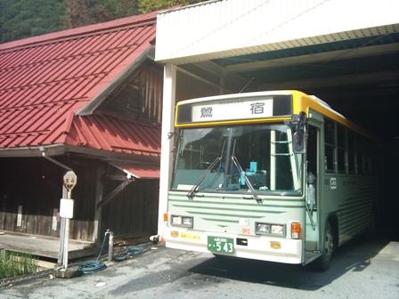秘境路線バスの旅 石和温泉駅~鶯宿線_f0138645_2015255.jpg