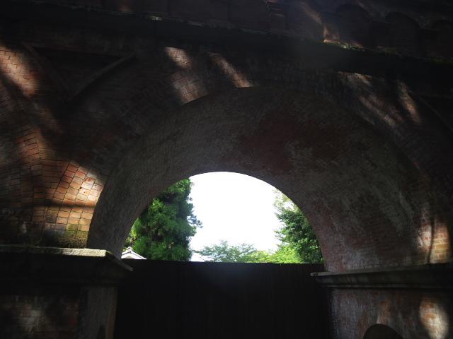 京都の風景 南禅寺の水路閣_f0024992_953723.jpg