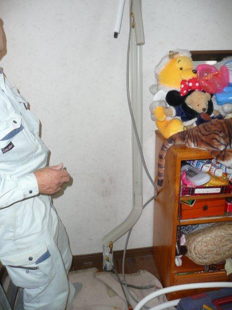 ガス式2室マルチエアコンを2組入替 その2(東京都西東京市)_e0207151_8394015.jpg
