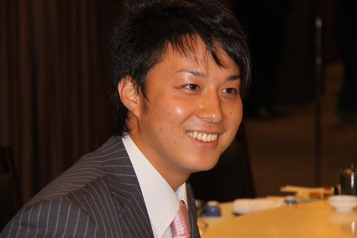 坂本コーチ&けいちゃん 祝結婚食事会_b0105369_103118.jpg