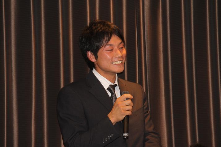 坂本コーチ&けいちゃん 祝結婚食事会_b0105369_1145584.jpg
