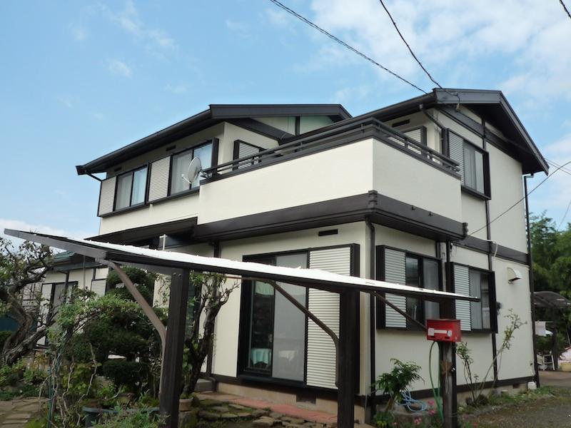 外部塗装3@ご近所さん_c0131878_13382589.jpg