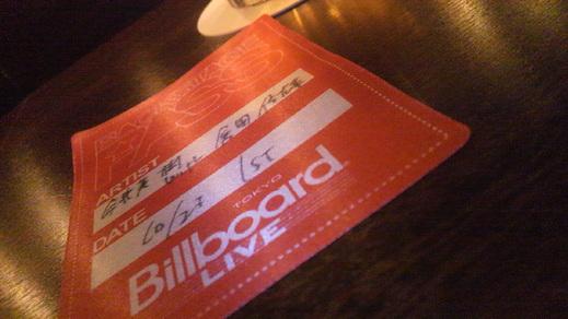 今井美樹with倉田信雄in Billboard Live TOKYO _f0164187_1175091.jpg