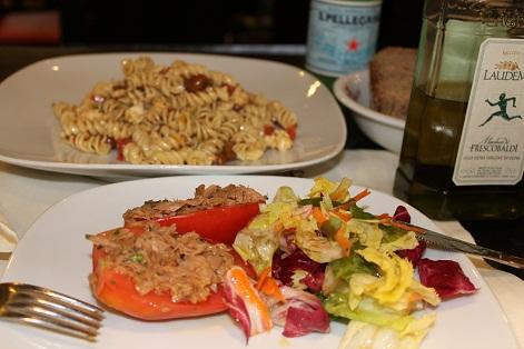 夜のナポリ、最後の夕食、そして帰国。_a0154793_0163466.jpg