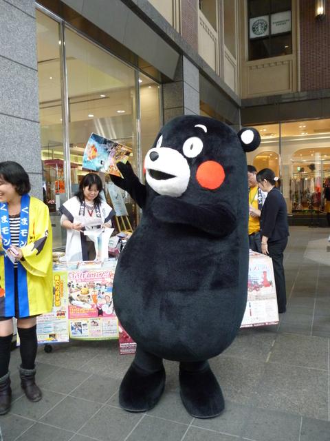 上通りにくまモンがいたヨ(^^)/_b0228113_10481711.jpg
