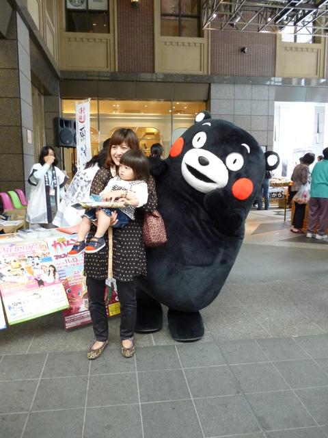 上通りにくまモンがいたヨ(^^)/_b0228113_10485459.jpg