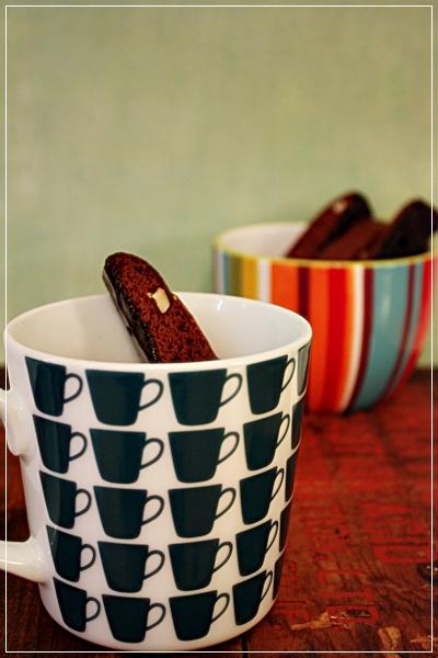 チョコレート&アーモンドビスコッティーwithチョコグレーズ_e0185225_1024361.jpg