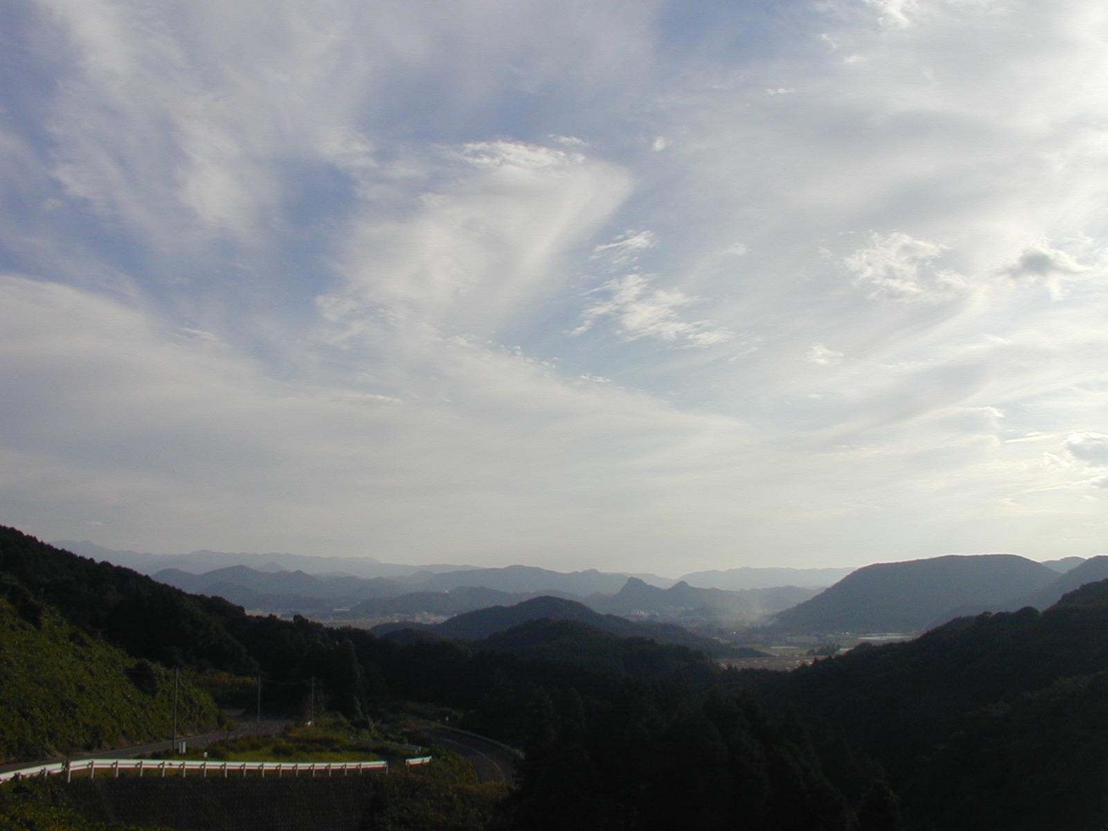 杉岳からの秋の空_b0114756_16324610.jpg