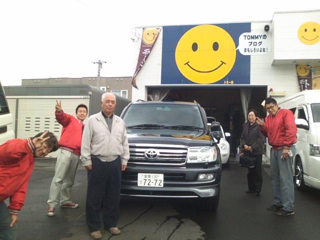 ランクル納車 トミー ランクル札幌店_b0127002_11222850.jpg