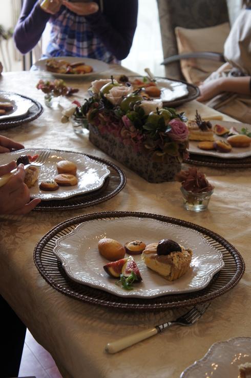 栗のタルト さつま芋のダマンド焼き フィナンシェ_d0210450_7525255.jpg