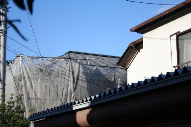 アパートの塗装が始まりました(東京都杉並区)_e0207151_17543184.jpg