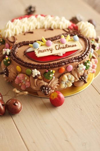 クリスマスケーキその①_f0149855_20403463.jpg