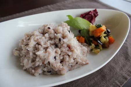 雑穀米のリゾット_e0207360_1121442.jpg