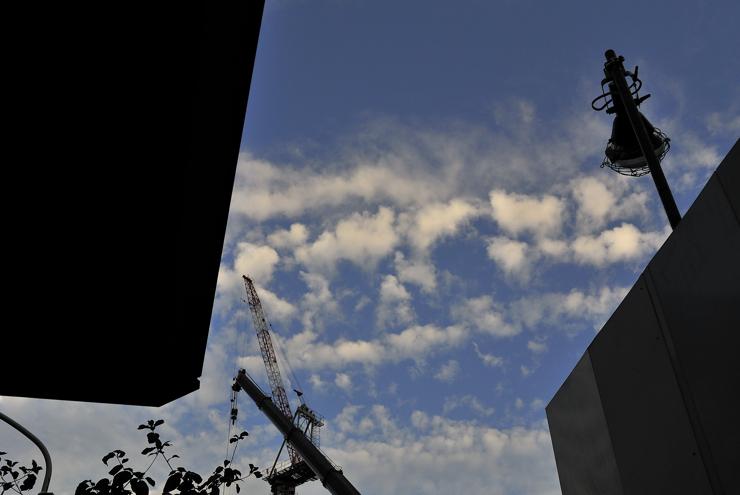 病院の秋の空と三つの写真展_a0031363_5101045.jpg