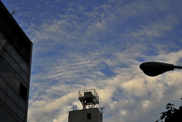 病院の秋の空と三つの写真展_a0031363_511740.jpg