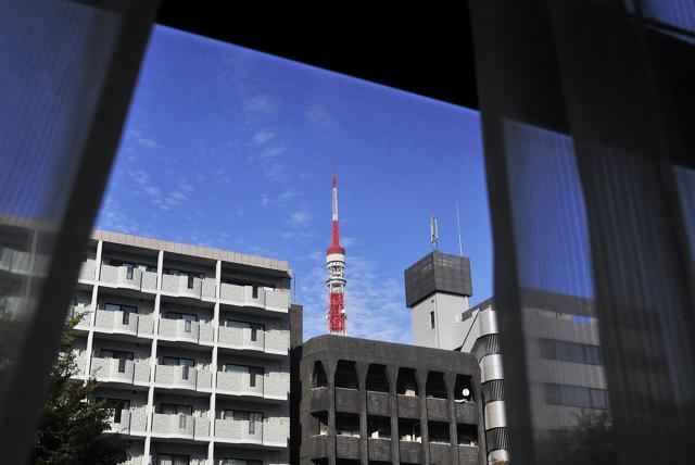 病院の秋の空と三つの写真展_a0031363_59451.jpg