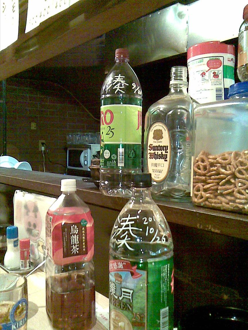 朝霞にある韓国 3 【焼酎ボトル一升はやめられない】_d0061678_22363398.jpg